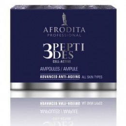 Cosmetica Afrodita - Fiole Anti-Age 3Peptides Cell-Active 5 x 1,5 ml