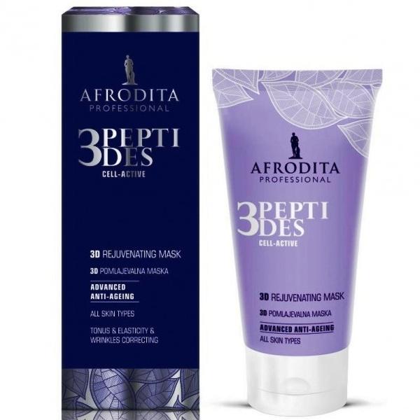 Cosmetica Afrodita - Masca 3D Anti-Age 3Peptides Cell-Active 150 ml imagine produs