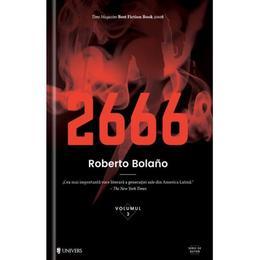 2666 - Roberto Bolano, editura Univers