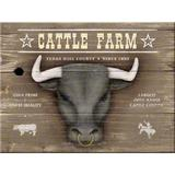 Magnet frigider - Cattle farm - ArtGarage