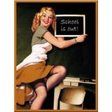 Magnet frigider - Pin Up School - ArtGarage