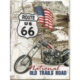 Magnet frigider - Route 66 Old Trails Road