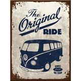 Magnet frigider - VW Bulli - The original ride - ArtGarage