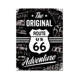 Magnet frigider - Route 66 Original Adventure - ArtGarage