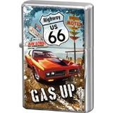 Bricheta metalica - Route 66 Gas Up - ArtGarage