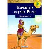 Clubul detectivilor. Expeditia in tara Punt - Maria Maneru, editura Girasol