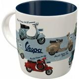 Cana - Vespa - Model Chart - ArtGarage
