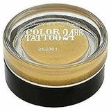 Fard de pleoape Maybelline NY Color Tattoo 24h 24k gold, 4 g