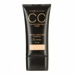 Corector Crema CC Max Factor Colour Correcting Cream 75 Tanned, 30 ml de la esteto.ro