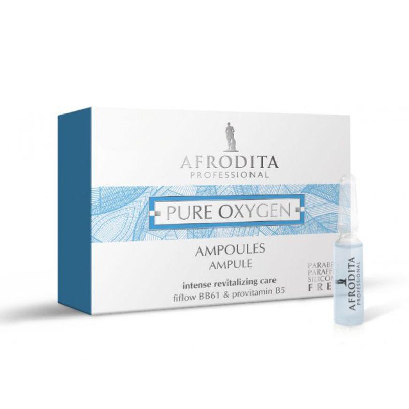 Fiole cu Oxigen - Cosmetica Afrodita Pure Oxygen Ampoules 5 fiole x 1,5 ml imagine produs