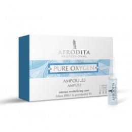 Fiole cu Oxigen - Cosmetica Afrodita Pure Oxygen Ampoules 5 fiole x 1,5 ml