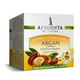 Cosmetica Afrodita - Crema de Noapte pentru ten uscat Argan 50 ml