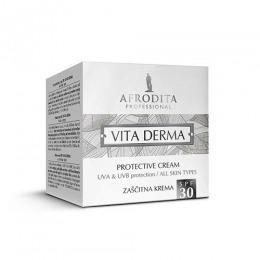 Cosmetica Afrodita - Crema pentru Protectie Solara SPF30 Vita Derma 50 ml