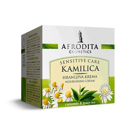 Cosmetica Afrodita - Crema Nutritiva Camomile Sensitive 50 ml imagine produs