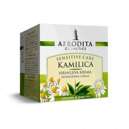 Cosmetica Afrodita - Crema Nutritiva Camomile Sensitive 50 ml
