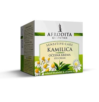 Cosmetica Afrodita - Crema Contur ochi Camomile Sensitive 15 ml