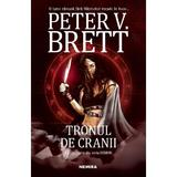 Tronul de cranii (Seria Demon  partea a IV-a) autor Peter V. Brett editura Nemira