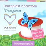 Leucoplast Transparent Easy Care, 2.5cm x 5m