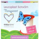 Leucoplast Transparent Easy Care, 5cm x 5m