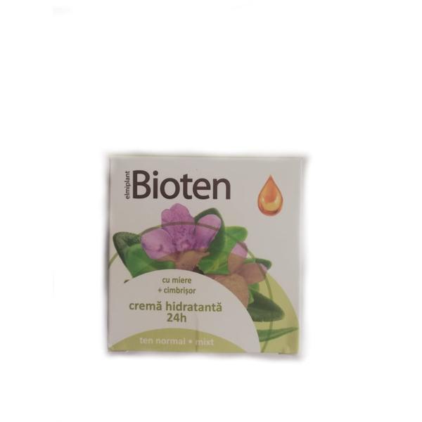 Bioten Crema Hidratanta 24H Ten Normal si Mixt Elmiplant, 50ml imagine produs