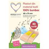 Plasturi din Material Textil 100% Bumbac Easy Care, 68 x 19mm, 20 buc