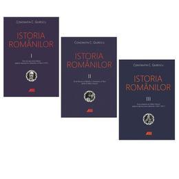 Istoria romanilor. Vol. I-III Ed.6 - Constantin C. Giurescu, editura All