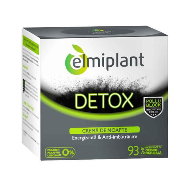 Detox Crema de Noapte Elmiplant, 50ml imagine produs