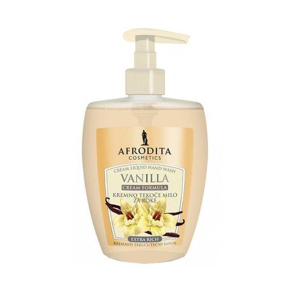 Cosmetica Afrodita - Sapun Lichid de Lux Vanilla Ultrarich 300 ml imagine produs