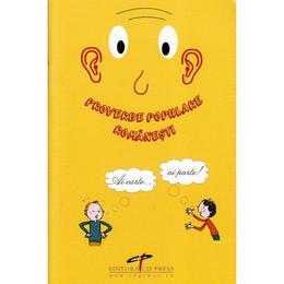 Proverbe populare romanesti, editura Cd Press