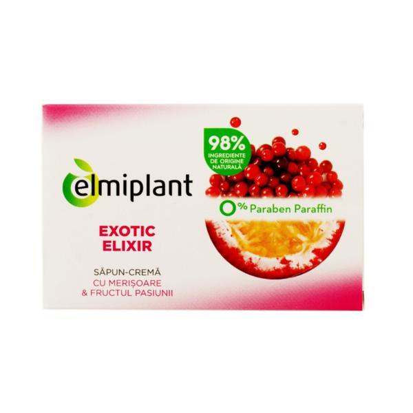 Sapun Solid Exotic Elixir Elmiplant, 100g imagine produs