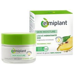 Skin Moisture Crema Hidratanta 24H Ten Normal si Mixt Elmiplant, 50ml de la esteto.ro