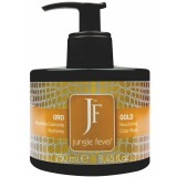 Masca Pigmentata - Jungle Fever Nourishing Color Mask Gold 250 ml