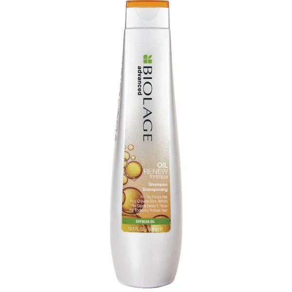 Sampon pentru Par Uscat si Poros - Matrix Biolage Advanced Oil Renew System Shampoo, 250ml poza