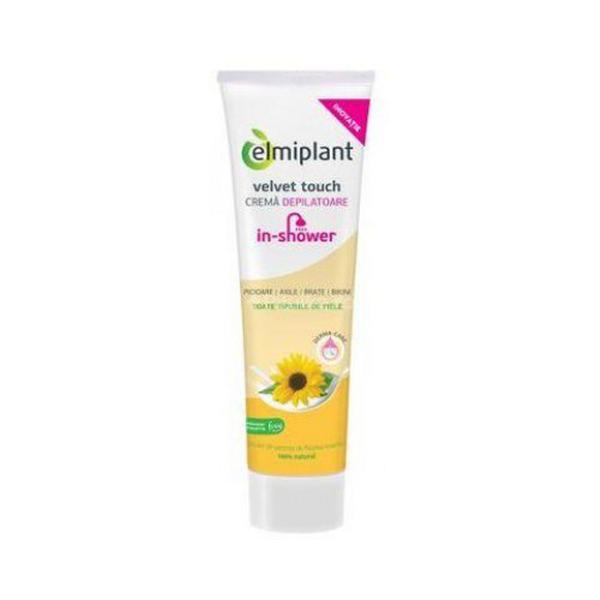 Velvet Touch Crema Depilatoare cu Ulei de Floarea Soarelui Elmiplant, 150ml imagine produs