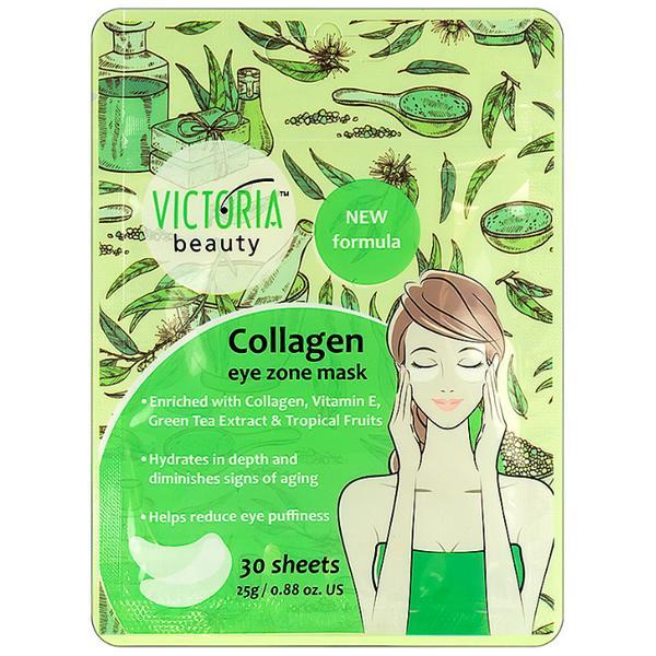 Masca cu Colagen pentru Zona Ochilor Victoria Beauty Camco, 30 buc imagine produs