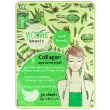 Masca cu Colagen pentru Zona Ochilor Victoria Beauty Camco, 30 buc