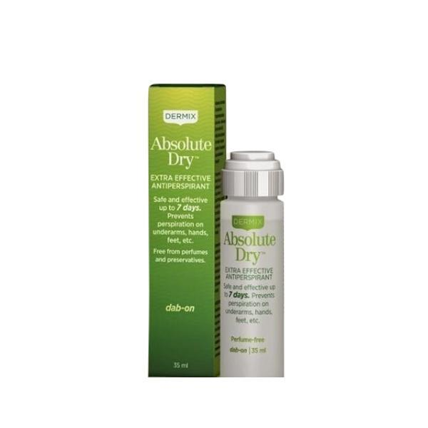 Antiperspirant Absolute Dry Dermix, 7 days effect, 35 ml esteto.ro