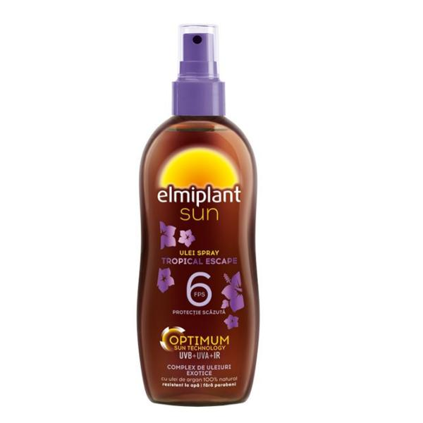 Sun Ulei Plaja SPF 6 Tropical Escape Spray Elmiplant, 150ml poza