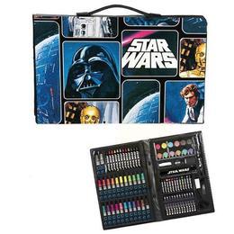 Set de creatie, Star Wars, Disney cu accesorii pentru scoala, 87 piese