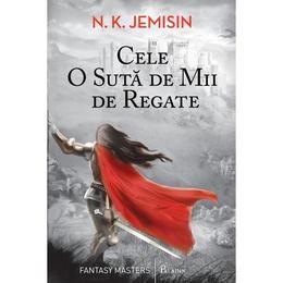 Cele o suta de mii de regate - N.K. Jemisin, editura Paladin