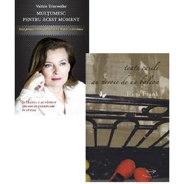 Pachet: Multumesc pentru acest moment (Valerie Trierweiler) + Toate casele au nevoie de un balcon (Rina Frank), editura Rao