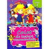 Caiet de lecturi recomandate - Clasa 1 - Ed.3 - Maria Vantu, editura Aramis