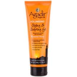 Gel pentru Volum - Agadir Argan Oil Volumizing Styling & Sculpting Gel Xtreme Hold 246 ml
