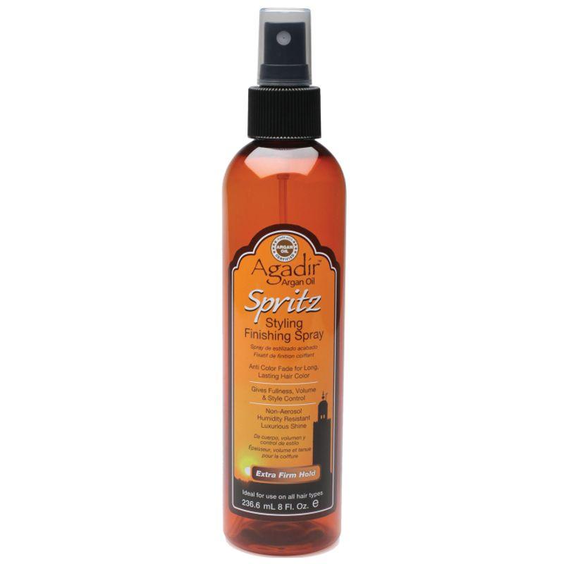 Spray pentru Fixare si Luciu Agadir - Argan Oil Spritz Styling Finishing Spray 236,6 ml