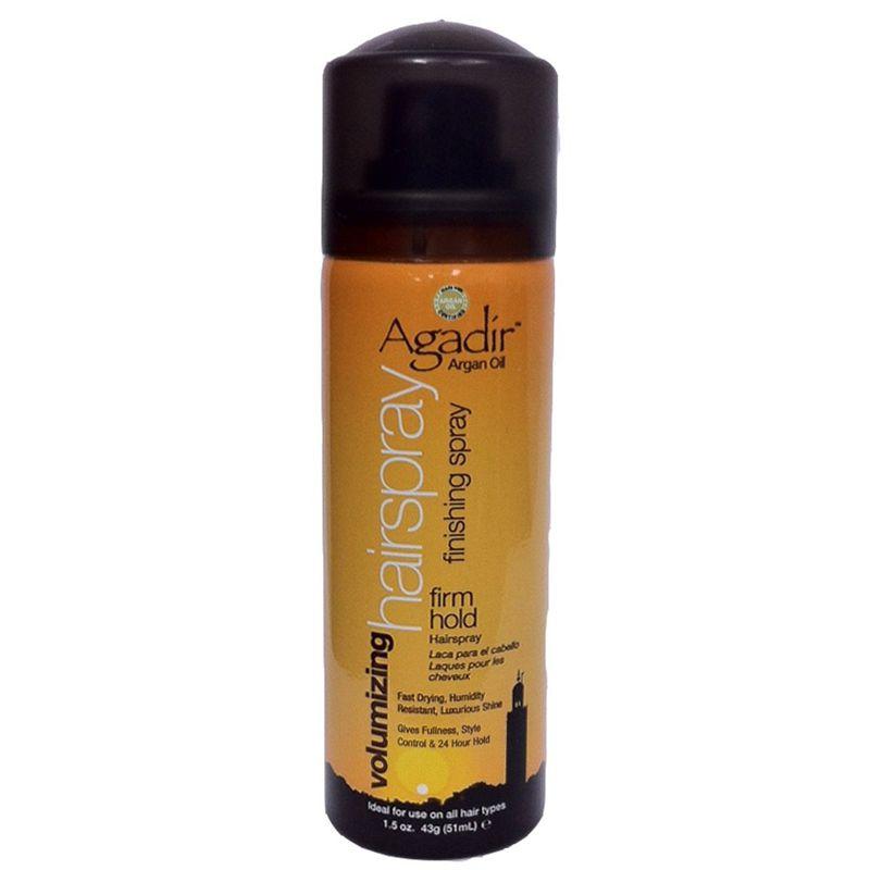 Fixativ pentru Volum - Agadir Argan Oil Volumizing Hairspray Firm Hold 51 ml imagine produs