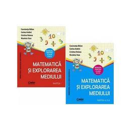 Matematica si explorarea mediului - Clasa 2. Partea I + II - Manual + CD - Constanta Balan, Corina Andrei, editura Corint