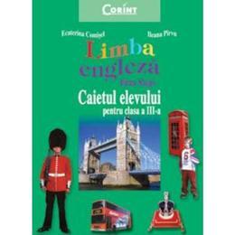 Manual engleza Clasa 3 Firm Steps Caiet - Ecaterina Comisel, Ileana Pirvu, editura Corint