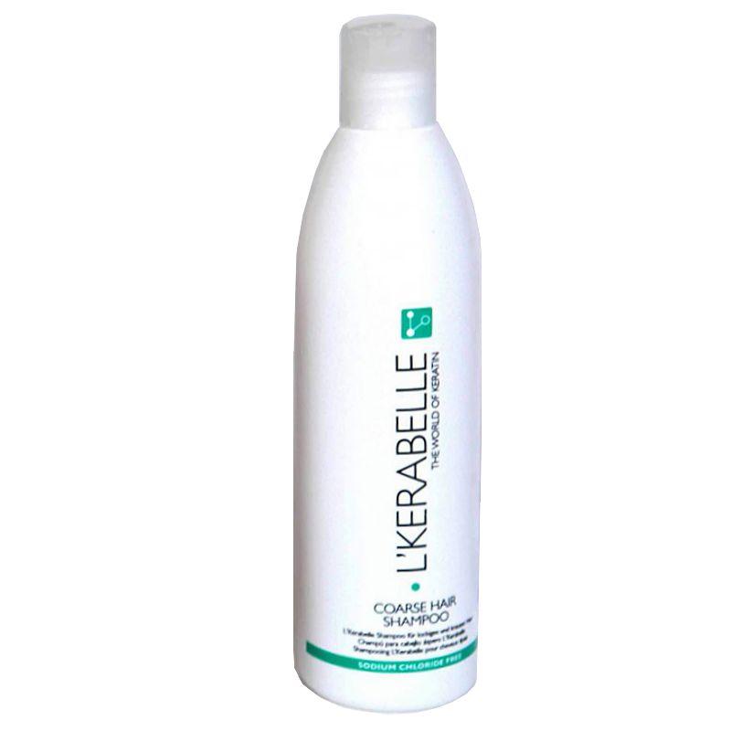 Sampon Par Aspru cu Keratina - L'Kerabelle Coarse Hair Shampoo 300 ml imagine