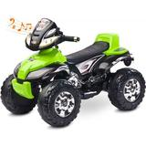 ATV Electric Toyz Quad Cuatro 6V Green