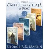 Pachet Seria Cantec de gheata si foc vol.1-5 - George R.R. Martin, editura Nemira